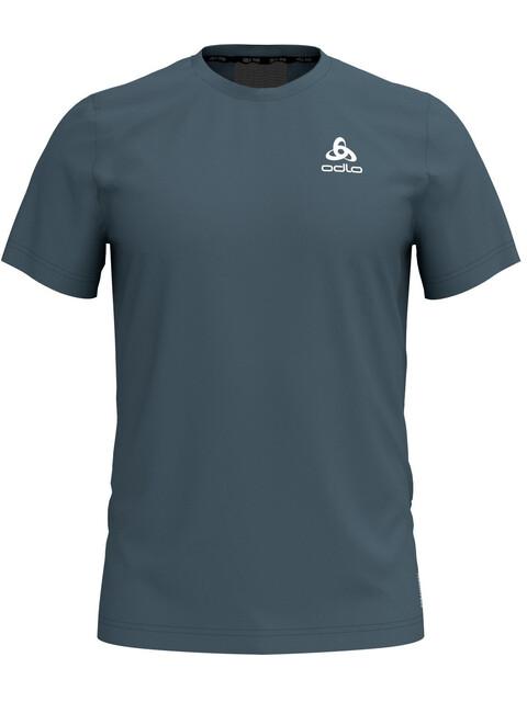 Odlo BL Ceramicool Element - Camiseta Running Hombre - Azul petróleo